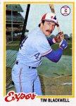 1978 Topps 449 Tim Blackwell