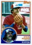 1983 Topps 320 Steve Rogers