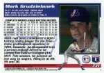 1995 Topps Traded Baseball 73T Mark Grudzielanek (Back)