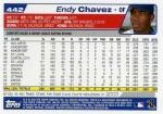 2004 Topps Baseball 442 Endy Chavez (Back)